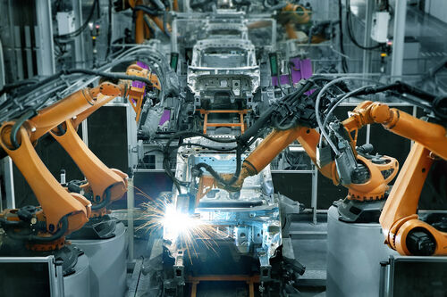 The manufacturing industry